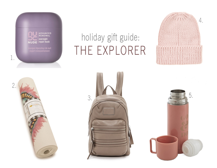 Holiday Gift Guide: The Explorer | NUDE Skincare
