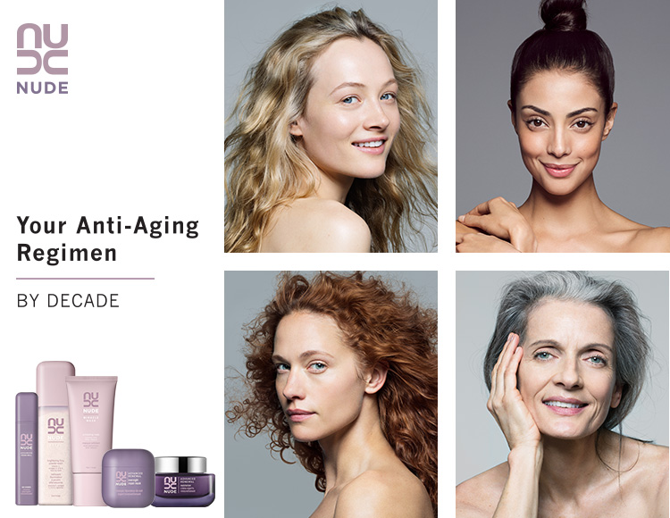 Your Anti-Aging Regimen, By Decade | NUDE Skincare