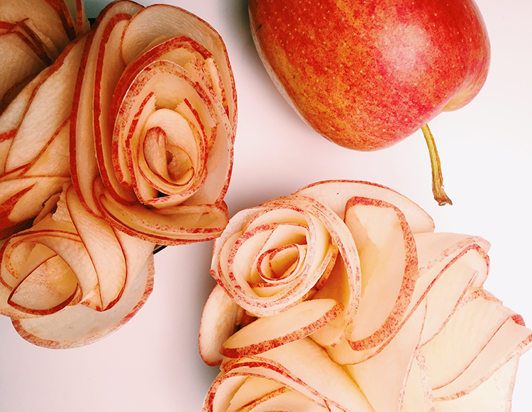 DIY: Apple Roses for Valentine's Day | NUDE Skincare
