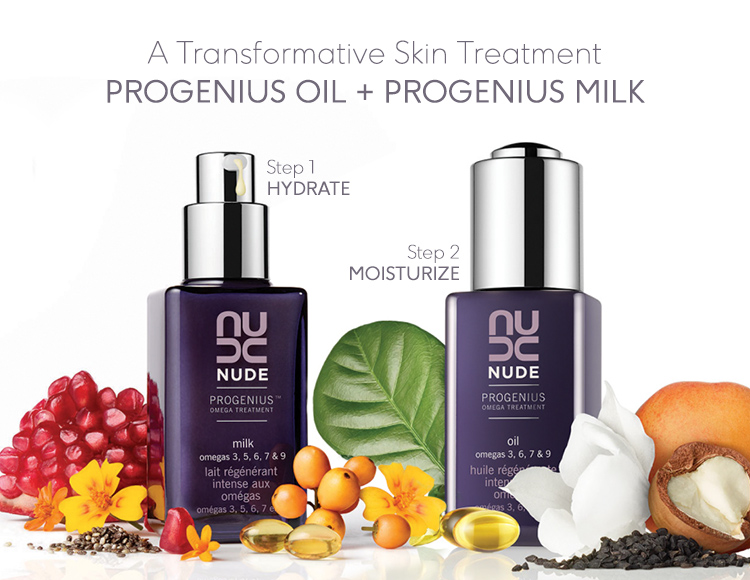 It Takes Two: ProGenius Milk + ProGenius Oil | NUDE Skincare