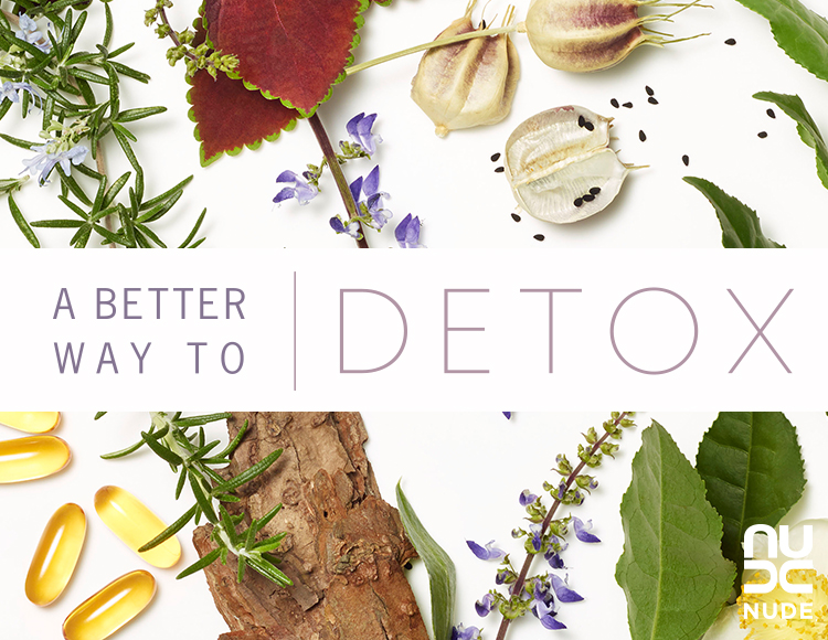 A Better Way to Detox | NUDE Skincare