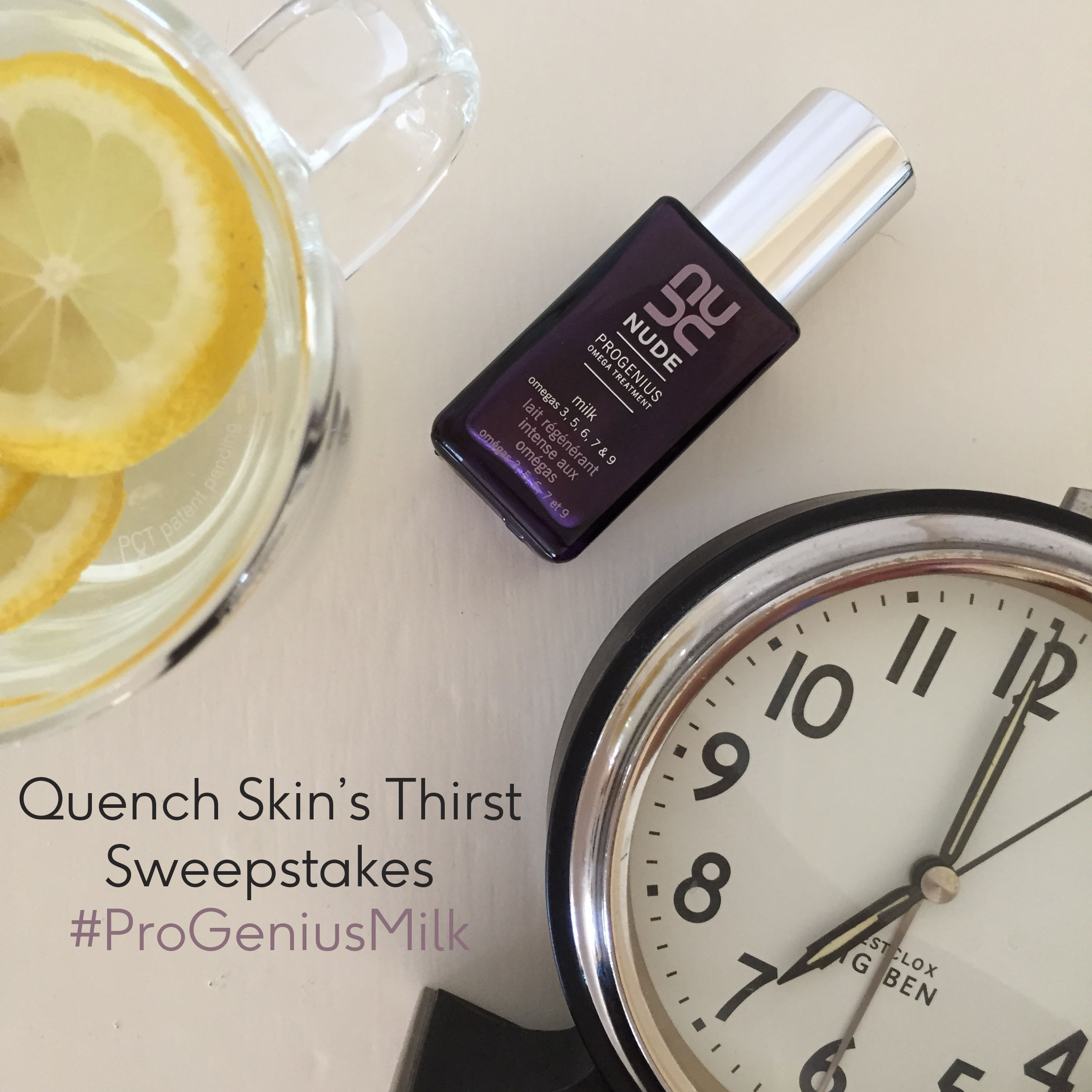 Quench Skin's Thirst Sweepstakes | NUDE Skincare