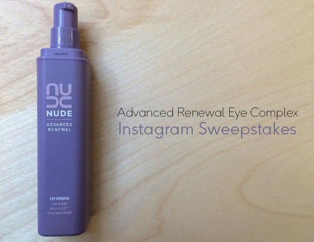 Advanced Renewal Eye Complex Sweepstakes | NUDE Skincare