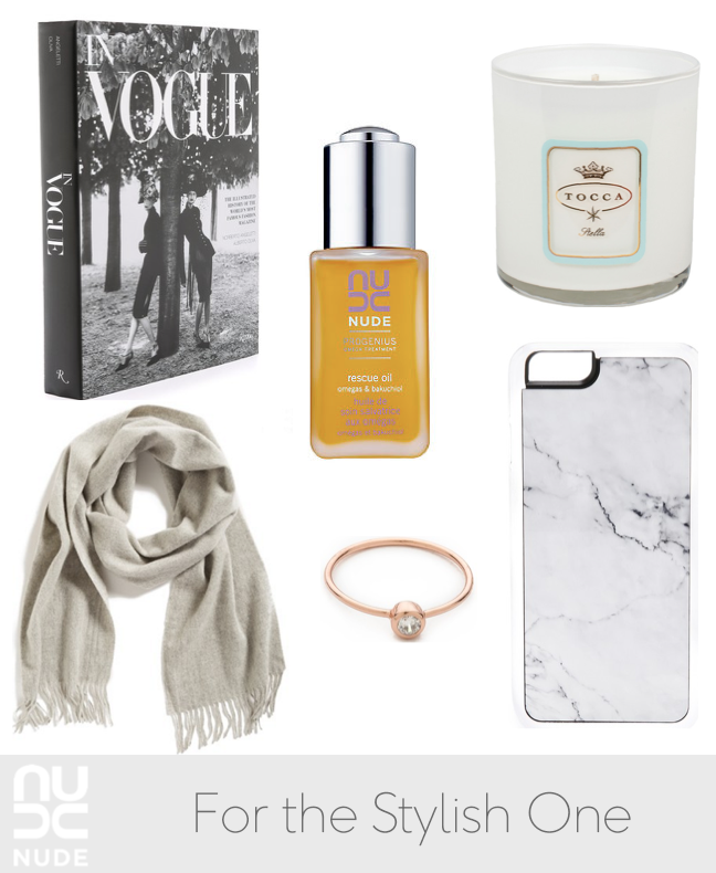 Gift Guide: The Stylish One | NUDE Skincare