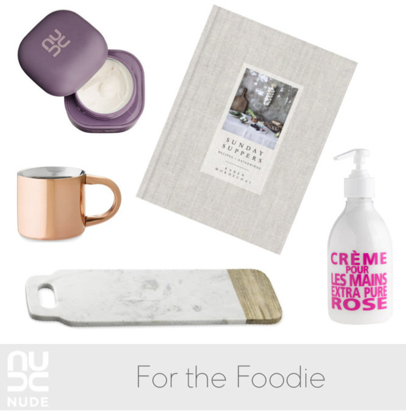 Gift Guide: The Foodie | NUDE Skincare