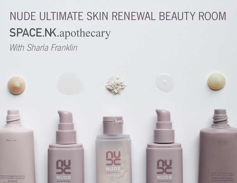 Space.NK Beauty Room: Personal Holistic Facial with Sharla to Bespoke Holistic Facial with Sharla | NUDE Skincare